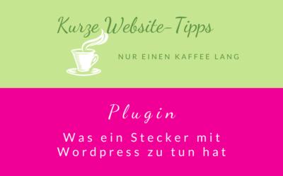 "Kaffee-Tipp … einfach erklärt ""Plugin"""
