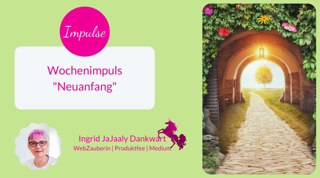 "Wochenimpuls ""Neuanfang"""