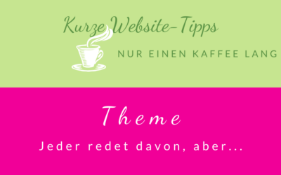 "Kaffee-Tipps … einfach erklärt ""Theme"""